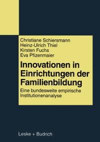 Cover Innovationen in Einrichtungen der Familienbildung