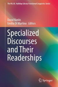 Cover Specialized Discourses and Their Readerships