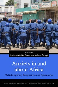Cover Anxiety in and about Africa
