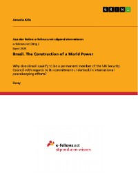 Cover Brazil. The Construction of a World Power