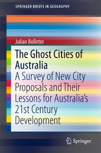 Cover The Ghost Cities of Australia
