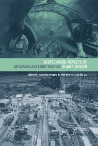 Cover Geotechnical Aspects of Underground Construction in Soft Ground