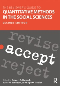 Cover Reviewer's Guide to Quantitative Methods in the Social Sciences