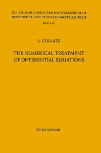 Cover Numerical Treatment of Differential Equations