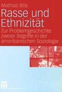 Cover Rasse und Ethnizität