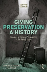 Cover Giving Preservation a History