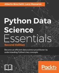 Cover Python Data Science Essentials - Second Edition