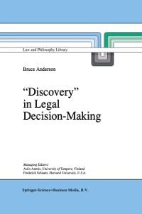 Cover `Discovery' in Legal Decision-Making
