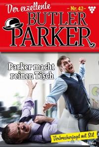 Cover Der exzellente Butler Parker 42 – Kriminalroman