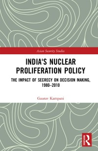 Cover India's Nuclear Proliferation Policy