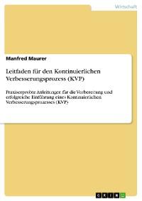 Cover Leitfaden für den Kontinuierlichen Verbesserungsprozess (KVP)