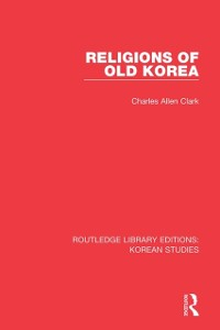 Cover Religions of Old Korea