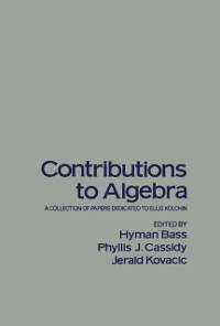 Cover Contributions to Algebra
