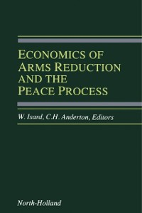 Cover Economics of Arms Reduction and the Peace Process