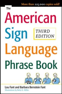 Cover American Sign Language Phrase Book