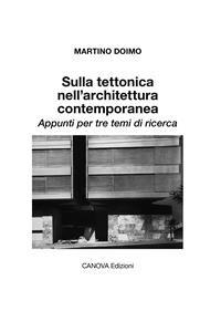 Cover Sulla tettonica nell'architettura contemporanea