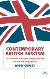 Cover Contemporary British Fascism