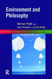 Cover Environment and Philosophy