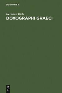 Cover Doxographi Graeci