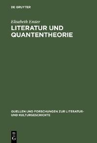 Cover Literatur und Quantentheorie