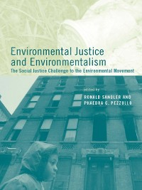 Cover Environmental Justice and Environmentalism