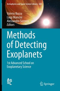 Cover Methods of Detecting Exoplanets