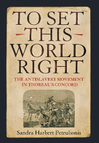 Cover To Set This World Right