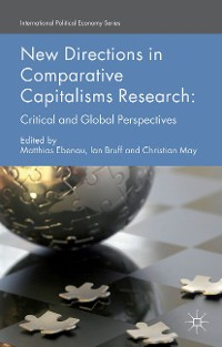 Cover New Directions in Comparative Capitalisms Research