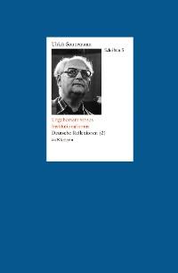 Cover Schriften / Ungehorsam versus Institutionalismus. Schriften 5