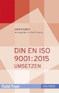 Cover DIN EN ISO 9001:2015 umsetzen