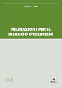 Cover Rilevazioni per il bilancio d'esercizio