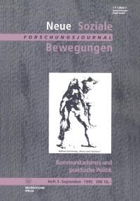 Cover Kommunitarismus und praktische Politik