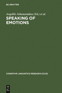 Cover Speaking of Emotions
