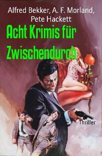 Cover Acht Krimis für Zwischendurch