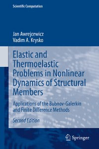 Cover Elastic and Thermoelastic Problems in Nonlinear Dynamics of Structural Members