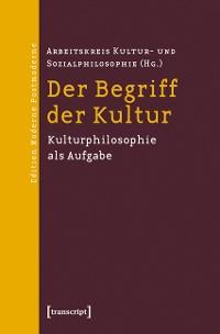Cover Der Begriff der Kultur
