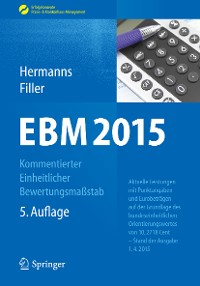 Cover EBM 2015 - Kommentierter Einheitlicher Bewertungsmaßstab