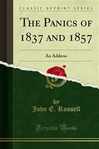 Cover The Panics of 1837 and 1857