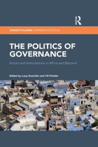 Cover Politics of Governance