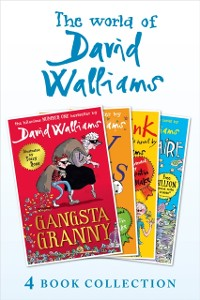 Cover World of David Walliams 4 Book Collection (The Boy in the Dress, Mr Stink, Billionaire Boy, Gangsta Granny)
