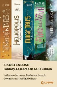 Cover 5 kostenlose Fantasy-Leseproben ab 12 Jahren