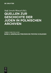 Cover Ehemalige preußische Provinz Schlesien
