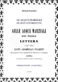 Cover Le Acque Marziali di Giovanni Bertone
