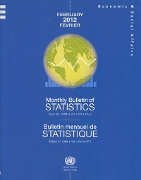 Cover Monthly Bulletin of Statistics, February 2012