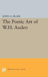 Cover Poetic Art of W.H. Auden