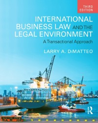 Cover International Business Law and the Legal Environment