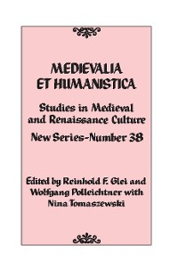 Cover Medievalia et Humanistica, No. 38