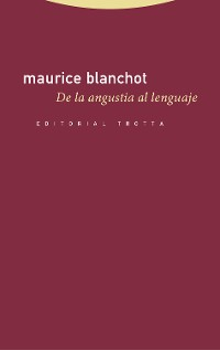 Cover De la angustia al lenguaje