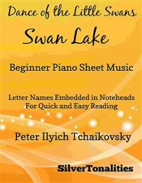 Cover Dance of the Little Swans Beginner Piano Sheet Music