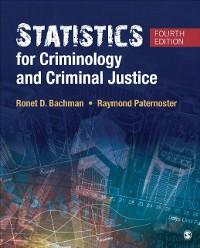 Cover Statistics for Criminology and Criminal Justice